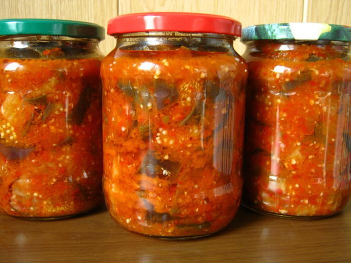 баклажанов из Лучшие зиму рецепты салатов на