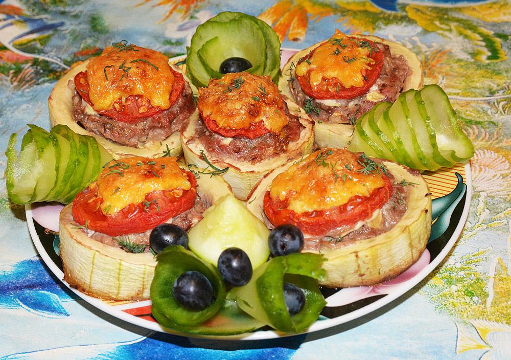диетический кабачок в духовке рецепт с фото