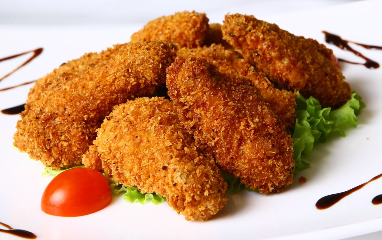курица в кляре в духовке рецепты с фото