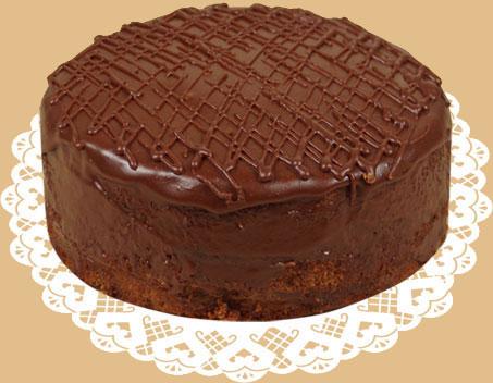 Шоколадный торты с фото