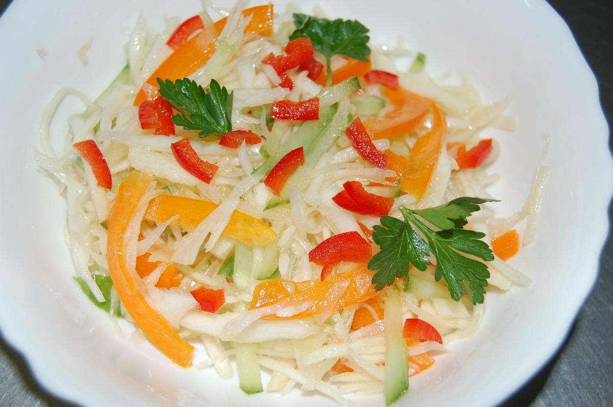 Фото салат витаминный