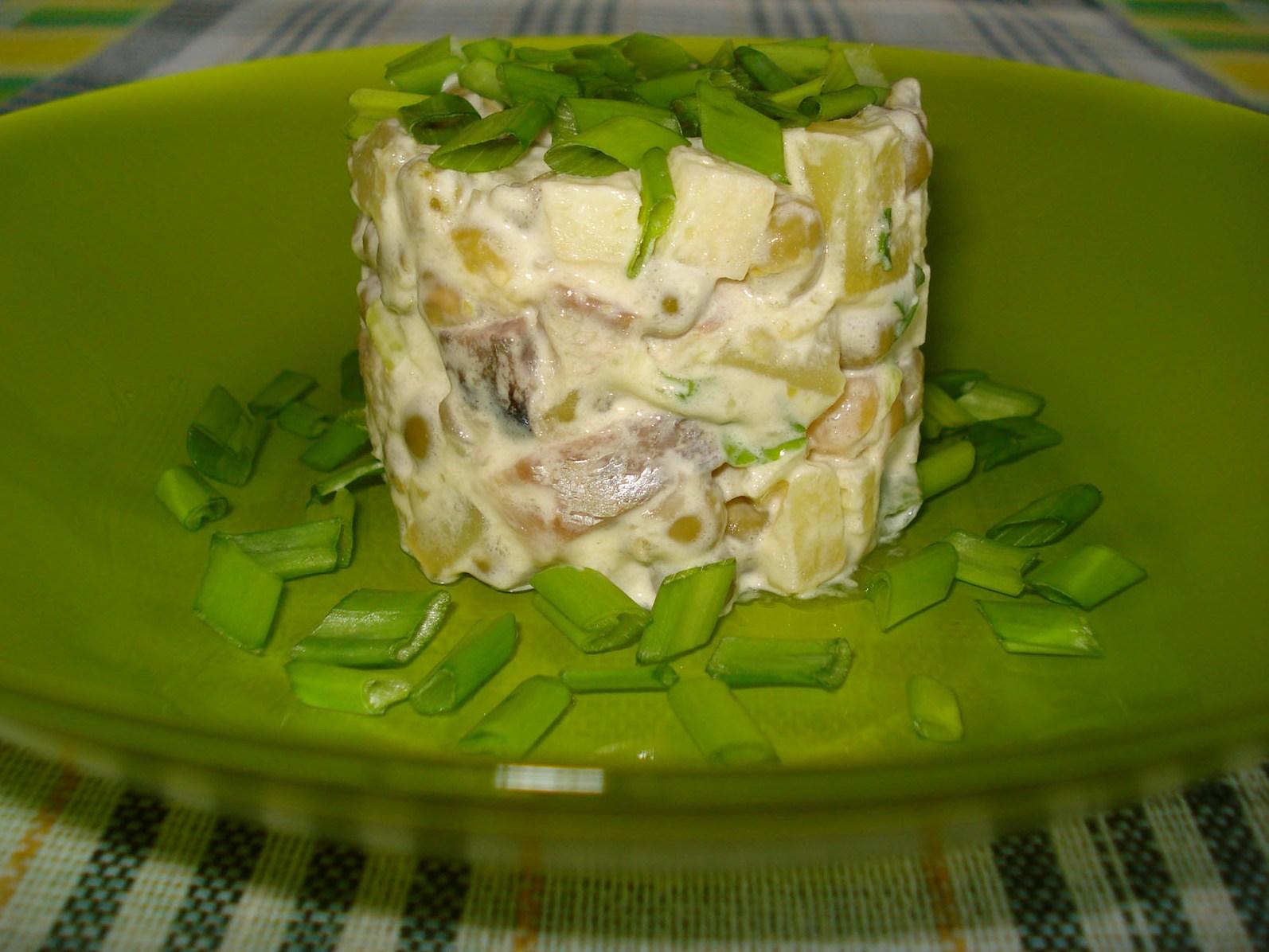 Салаты рецепты с колбасой простые и вкусные