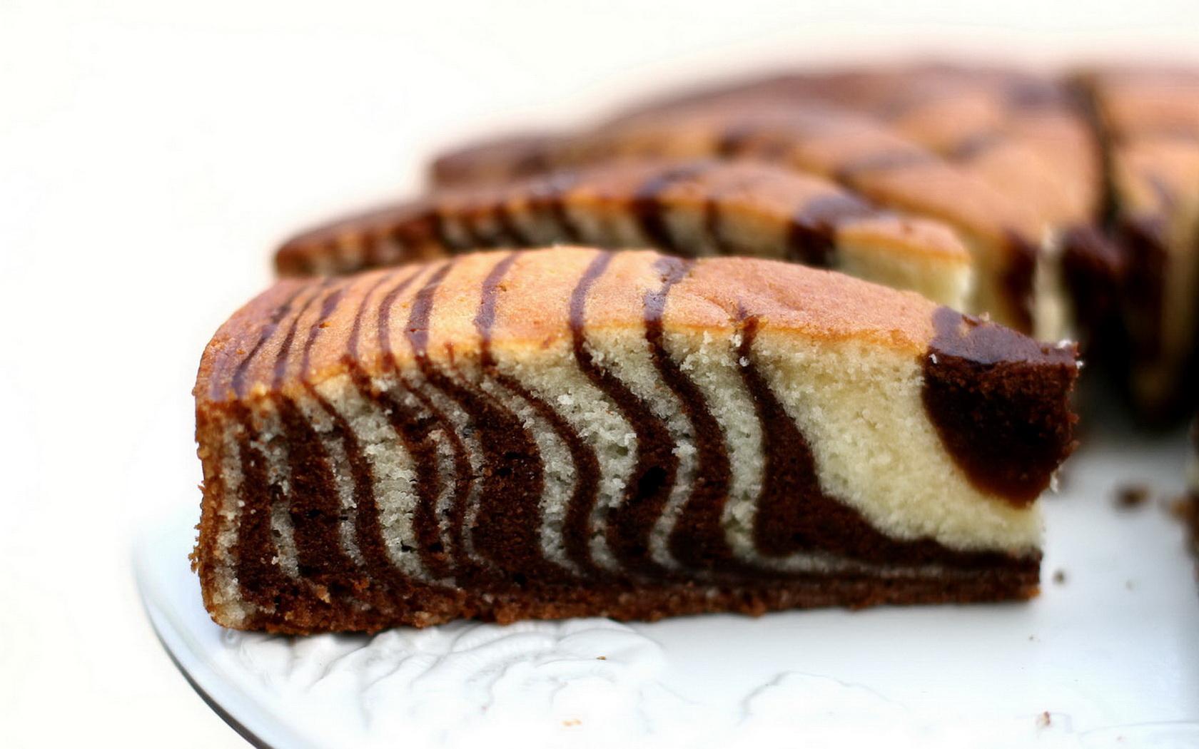 Простой рецепт торта зебра в домашних условиях с фото