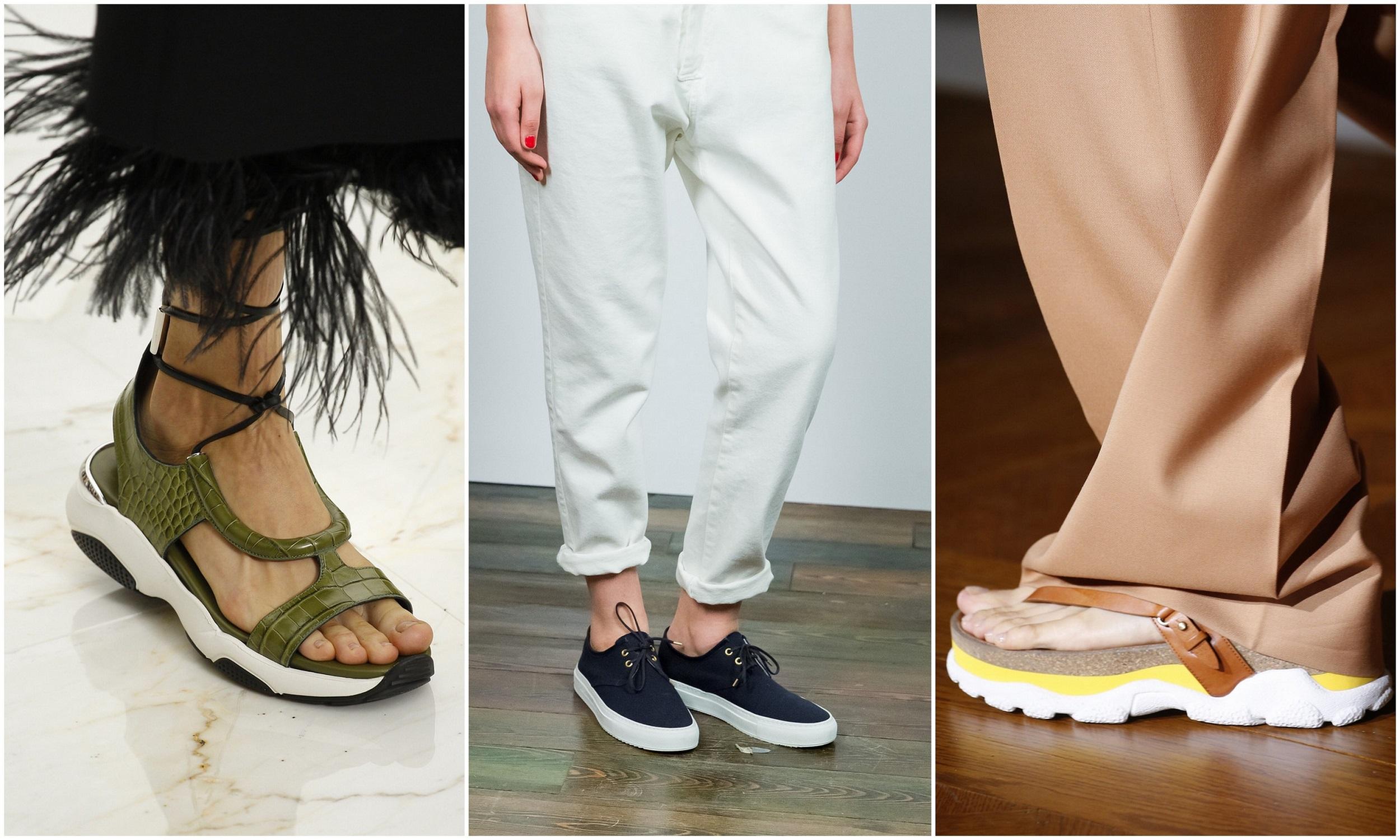 Спортивная обувь 2017 года модные тенденции весна лето