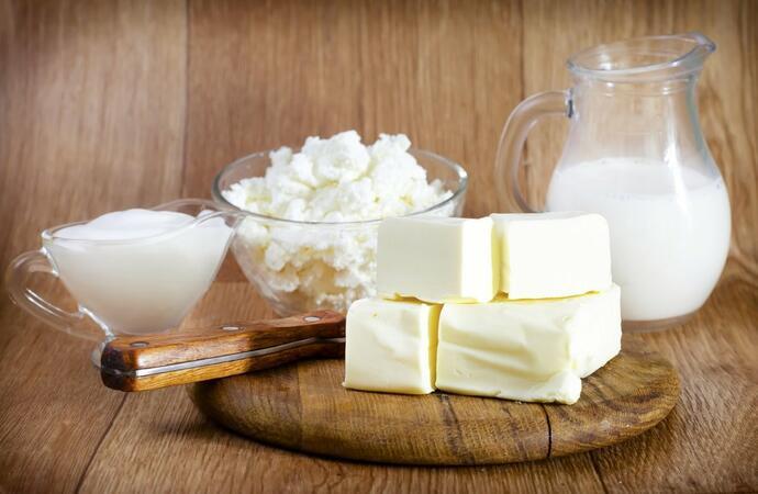 молочная продукция в меню
