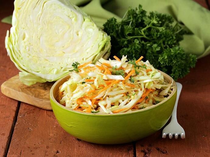 Салат с красной капустой