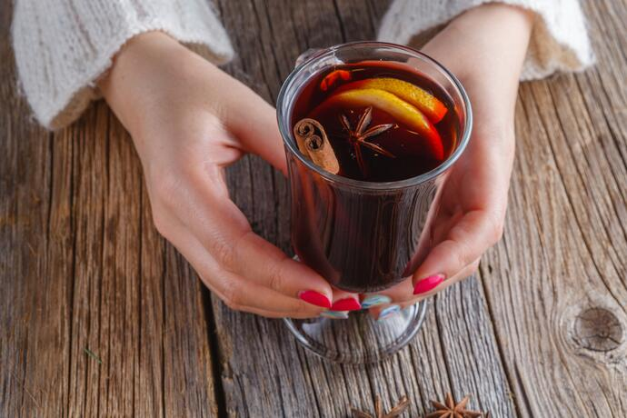 Рецепт глинтвейна в домашних условиях белое вино 902
