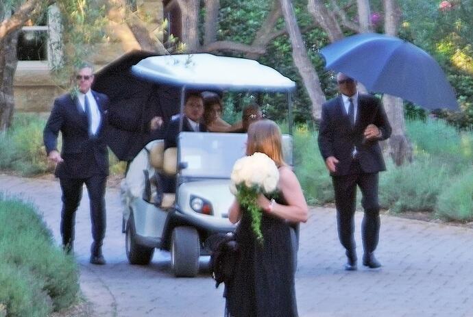 свадьба Криса Пратта и Кэтри Шварценеггер