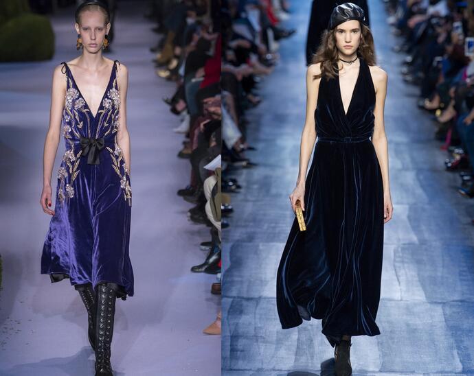 выбираем ткань для платьев на новый год