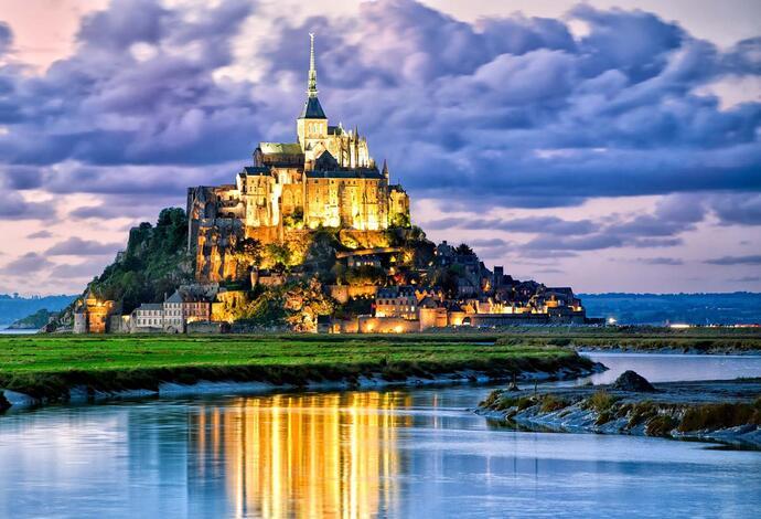 Мон-Сен-Мишель (Франция)