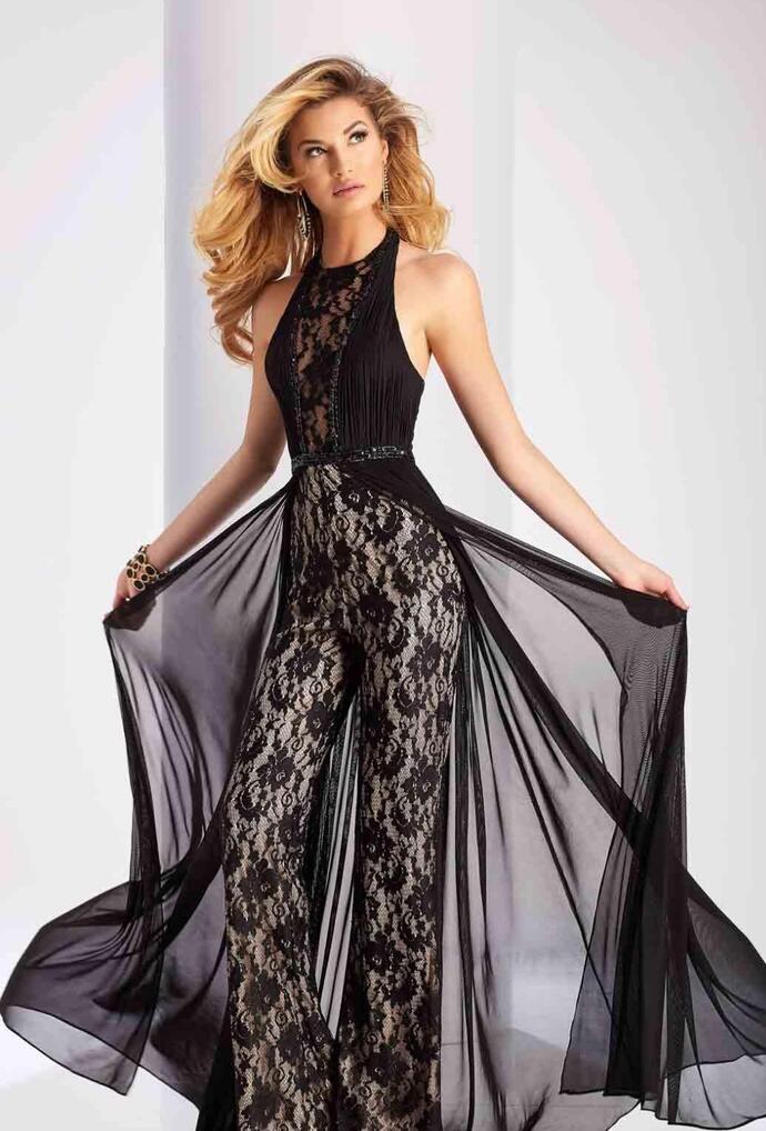 Шикарное платье-комбинезон - для звезды новогоднего вечера