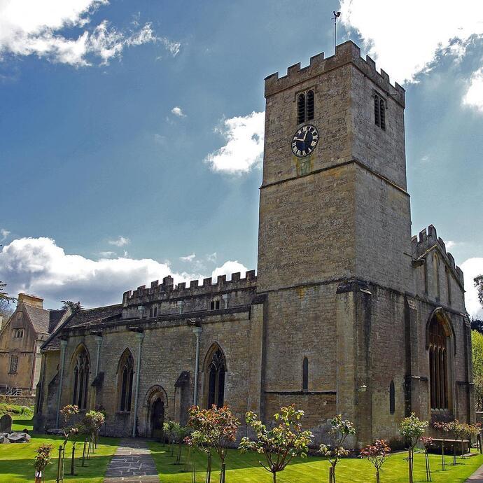 Деревня Бибери (Англия)