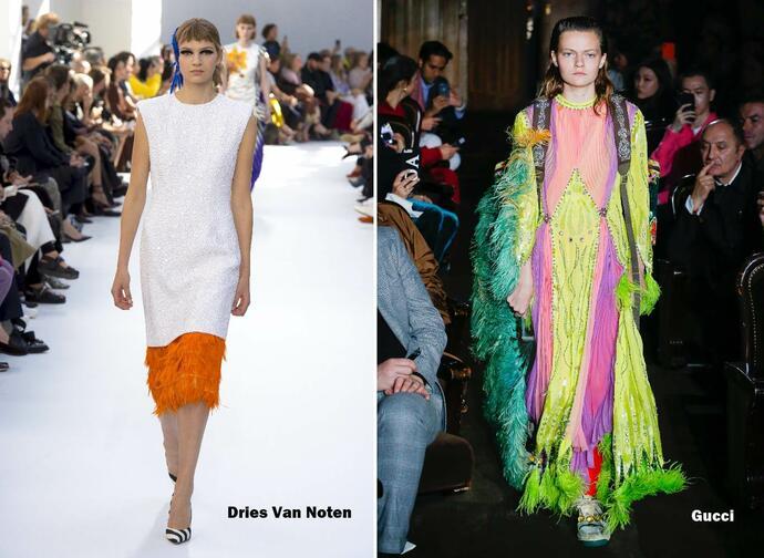 мода весна лето 2019