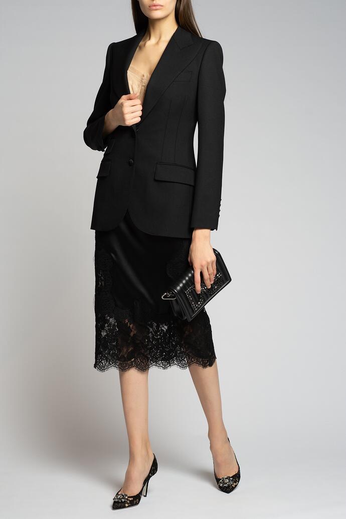 Черный пиджак Dolce&Gabbana