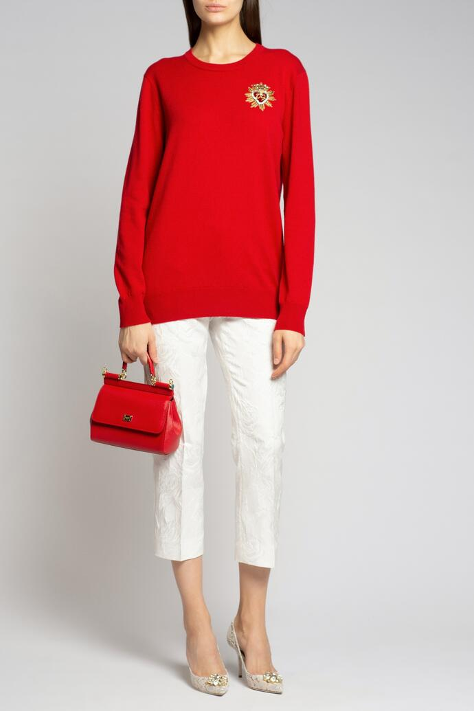Укороченные брюки Dolce&Gabbana