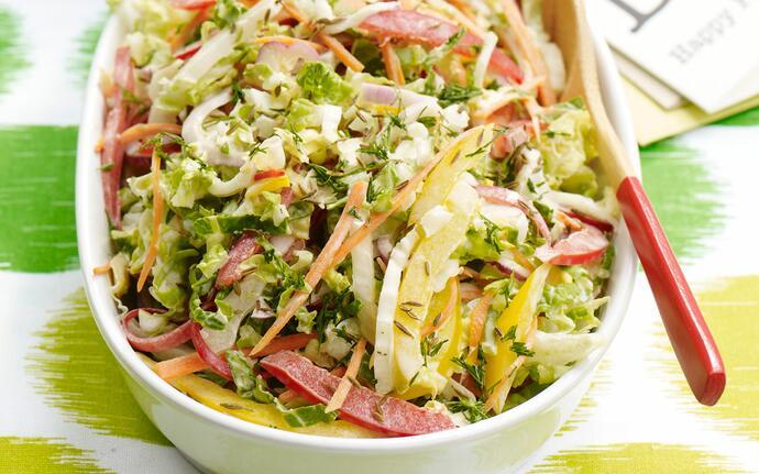 салат из капусты по-арабски