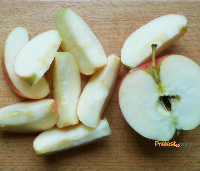 гусь с яблоками