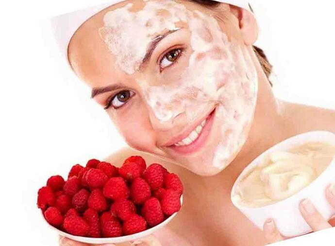 маска для лица из клубники