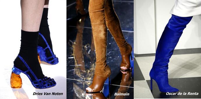женская обувь осень-зима 2017-2018