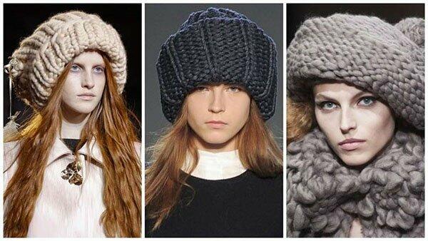 Модные головные уборы зима 2018-2018 тренды фото