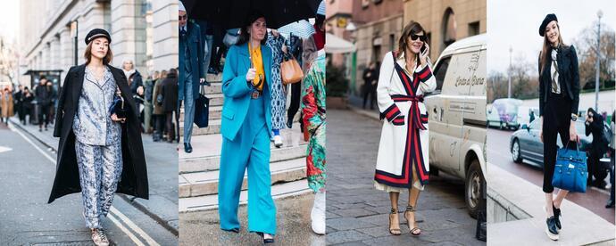 уличная мода на осень-зиму 2017-2018