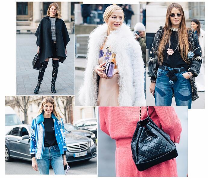 уличная мода парижа
