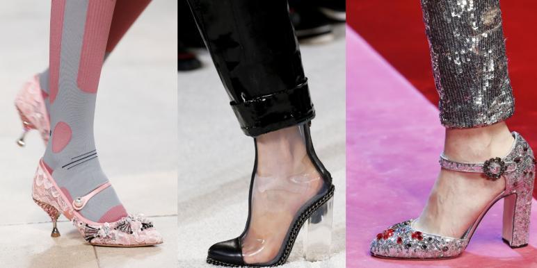 Модная обувь весна-лето 2018 - тенденции с фото f84cdc4610c