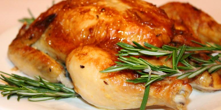 Курица с картошкой в сметане в духовке рецепт с пошагово в
