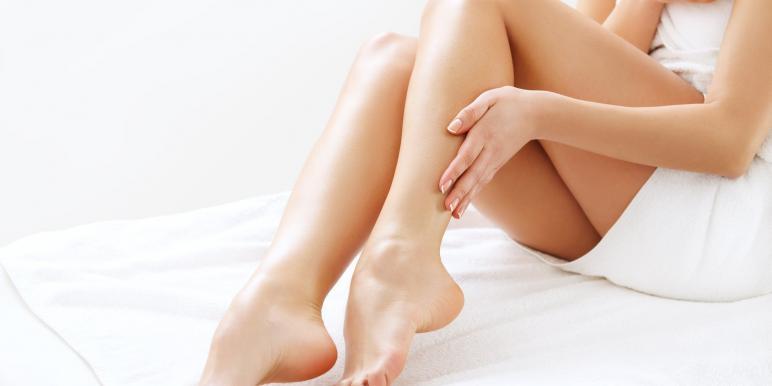 Красивые ноги взрослой женщины