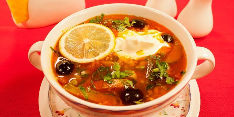 Солянка суп рецепт с пошагово
