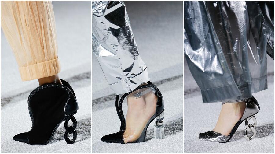 c1043914e384 Модная обувь осень-зима 2018-2019 порадует яркой палитрой, устойчивым  каблуком, рельефной фактурой. В тренде шнурованные модели, ...