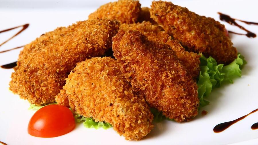 куриное филе в сухарях в духовке