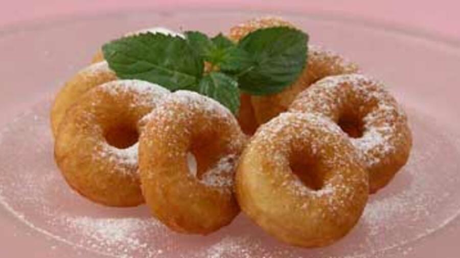 рецепт пончиков с начинкой с фото пошагово