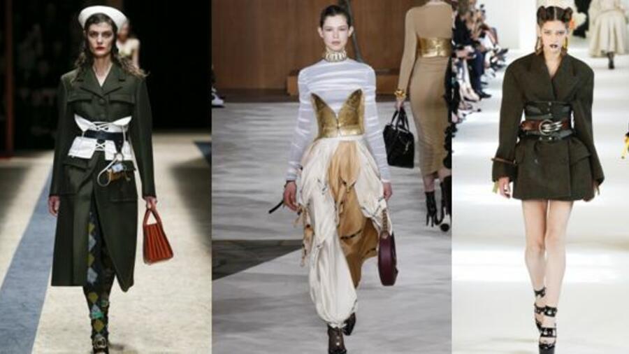 Модный тренд сезона — пояс-корсет: как и с чем носить