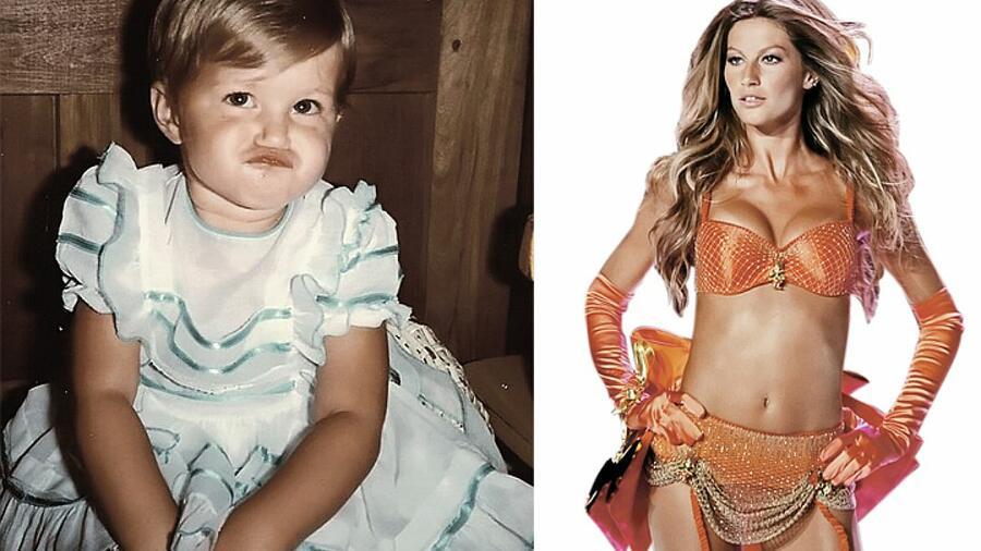 Известные модели, бывшие в обличье гадкого утенка в детстве в 2019 году